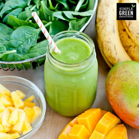 Beginners Luck Smoothie - Photo and recipe from simplegreensmoothies.com